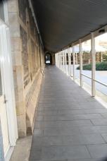 Ourside courtyard walk