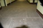 slate on the ground floor
