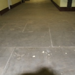slate on the ground floor