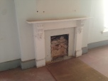 fireplace on the 2nd floor