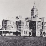 P 16, Admin Building, NW Aspect, 1872