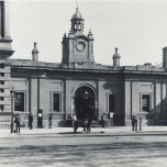 P 17, 1851, Adelaide Post Office, Police Station & Court House with no clock.
