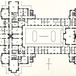 P 24, 1963 Reproduction of original ground floor plan