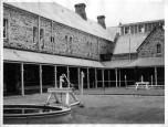 Inner courtyard in Admin Building