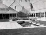 1963 inner courtyard Admin Building