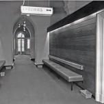 P 27 Main Entrance Admin Building, looking East, 1969