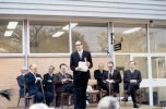 P 28, 1969 June 13, Opening of new Pharmacy, 4L Dr Brian Shea, speaker Hon Ren De Garis, Harry 2
