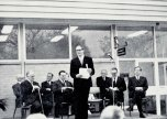P 28, 1969 June 13, Opening of new Pharmacy, 4L Dr Brian Shea, speaker Hon Ren De Garis, Harry K