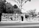P 32, 1962 boundary wall showing new height along Fullarton Rd & old along Greenhill Rd