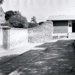 P 32, 1963 Nov 13, Erindale, day room & work shops & modified Ha Ha wall with H ward to L