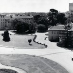 P 40, 1963 Dec 19, Looking W towards Nurses Home & Cleland House