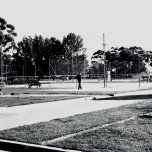 P 50, 1963 Dec 4, Electric Light Cricket Courts, East of Oval