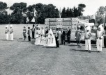 P 51, 1960 Carnival & float on oval