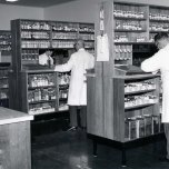 P 59, 1969 June 13, new Pharmacy, dispensing scripts