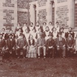 P 61, Parkside Staff c 1893-1901, fr row 3rd fro L Mr A C Deane, Head Attend't 1893-1911_ Miss H